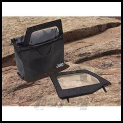 MOPAR Soft Window Storage Bag (5 Compartments) For 2007-18 Jeep Wrangler JK 2 Door Models 82210327