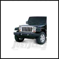 Omix-ADA Grille OverlayChrome For 2007+ Jeep Wrangler JK And Unlimited 4 Door 12033.05
