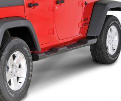 MOPAR Factory Style Side Steps For 2007-18 Jeep Wrangler JK Unlimited 4 Door Models 82210571AD