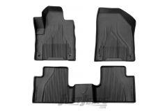 MOPAR Front & Rear Floor Slush Mats For 2014-16 Jeep Cherokee KL Models 82214098AC