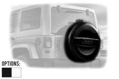 "MOPAR Tire Hard Cover For 32"" (255/75R17 & 255/70R18) For 2007-18 Jeep Wrangler JK 2 Door & Unlimited 4 Door Models 82214306-"