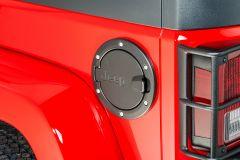 MOPAR (Black) Fuel Filler Door For 2007-18 Jeep Wrangler JK 2 Door Models 82214789