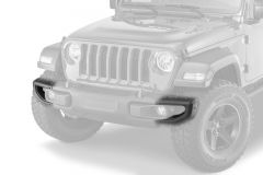 MOPAR 2 Piece Rubicon Stubby Front Bumper End Caps For 2018-20+ Jeep Wrangler JL & Gladiator JT Models 82215115AB