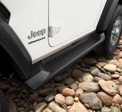 MOPAR Production Style Side Steps For 2018+ Jeep Wrangler JL 2 Door Models 82215145