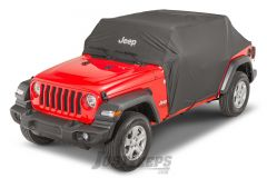MOPAR Jeep Logo Cab Cover For 2018+ Jeep Wrangler JL Unlimited 4 Door Models 82215370