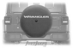 "MOPAR Spare Tire Cover ""Wrangler"" Logo For 2018+ Jeep Wrangler JL 2 Door & Unlimited 4 Door Models With 32"" Tires 82215444"