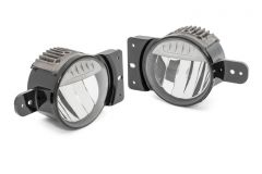 MOPAR LED Fog Lamps For 2018+ Jeep Gladiator JT & Wrangler JL & JLU (Sport) 82215549