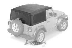 MOPAR Soft Top Kit For 2018+ Jeep Wrangler JL 2 Door Models 82215803-
