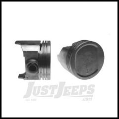 Omix-ADA Piston With Pin For 1983-93 Jeep CJ Series, Wrangler YJ & Cherokee XJ With 2.5L & 4.0L .010 Oversized 17427.11