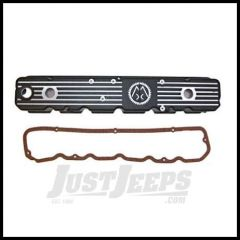 """Omix-ADA Valve Cover For 1981-86 Jeep CJ Series With 6 Cyl With """"Omix"""" Logo (Aluminum Replacement for Plastic Original) 17401.07"""