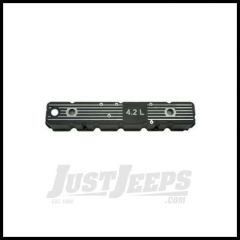 """Omix-ADA Valve Cover For 1981-86 Jeep CJ Series With 6 Cyl With """"4.2L"""" Logo (Aluminum Replacement for Plastic Original) 17401.08"""