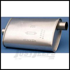 Omix-ADA Muffler For 1987-92 Jeep Wrangler YJ With 2.5L & 1991-92 Wrangler YJ With 4.0L 17609.05