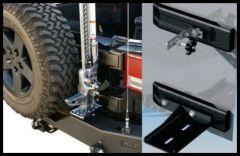 Rampage Hi Lift Jack Mount Kit For 2007-18 Jeep Wrangler JK 2 Door & Unlimited 4 Door 86612