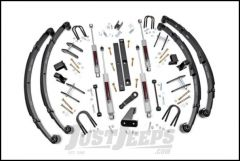"Rough Country 4½"" Spring Suspension Lift Kit With Premium N3 Series Shocks For 1987-95 Jeep Wrangler YJ (With Power Steering) 618.20"