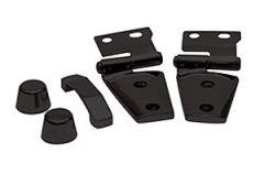 Rampage (Black) Hood Kit For 2007-18 Jeep Wrangler JK 2 Door & Unlimited 4 Door Models 87666