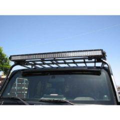 """Garvin Wilderness 50"""" Light Bar Mounts For 2018+ Jeep Wrangler JL 2 Door & Unlimited 4 Door Models 88050"""