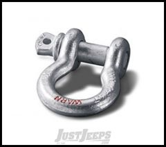 """WARN D-Ring Shackle 3/4"""" Shackle With 7/8"""" Pin 18,000lbs (EACH) 88999"""