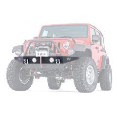 WARN Rock Crawler Front Bumper For 2007-18 Jeep Wrangler JK 2 Door & Unlimited 4 Door Models 89430