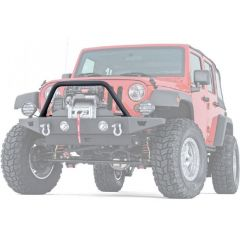 WARN Grille Guard Tube To Fit WARN Rock Crawler Front Bumper For 2007-18 Jeep Wrangler JK 2 Door & Unlimited 4 Door 89440