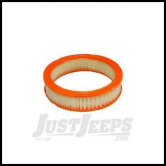 Omix-ADA Air Filter For 1974-90 Jeep CJ Series & Wrangler YJ  With 4.2L Round 17719.01