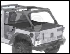 BESTOP Duster Deck Cover Extension In Black Diamond For 2007-18 Jeep Wrangler JK Unlimited 4 Door Models 90034-35