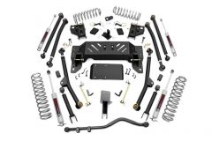 "Rough Country 4"" Long Arm Suspension Kit With Premium N3 Series Shocks For 1993-98 Jeep Grand Cherokee ZJ Models 90222"