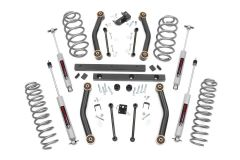 """Rough Country 4"""" Suspension Lift Kit With Premium N3 Series Shocks For 1997-02 Jeep Wrangler TJ Models 90630"""