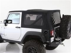 SmittyBilt  Premium Replacement Top Skin With Tinted Windows For 2010-18 Jeep Wrangler JK 2 Door Models 9076235