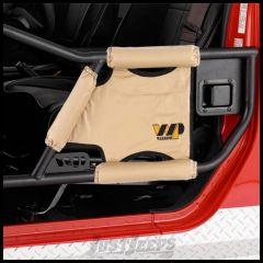 Warrior Products Adventure Door Padding Kit Rear For 2007-18 Jeep Wrangler JK Unlimited 4 Door Models 90794