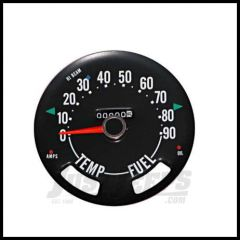 Omix-ADA Speedometer Head For 1955-79 CJ Series OE Style Guages not included 0-90 Miles 17207.01