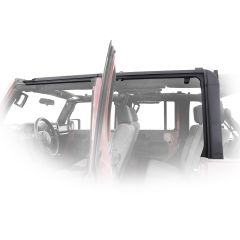 SmittyBilt O.E. Style Door Surrounds For 2007-18 Jeep Wrangler JK Unlimited 4 Door Models 91406