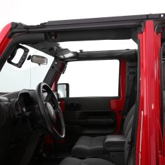 SmittyBilt O.E. Style Door Surrounds For 2007-18 Jeep Wrangler JK 2 Door Models 91405
