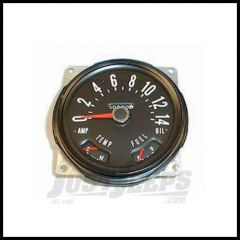 Omix-ADA Speedometer Assembly For 1955-79 CJ Series OE Style With Fuel & Temp Guages 0-140 KPH 17205.02