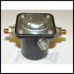 Omix-ADA Starter Solenoid For 1955-71 Jeep CJ Series With 4 Cyl 12 Volt (3 Terminal) 17230.01