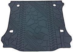 MOPAR Cargo Floor Mat With Jeep Logo For 2011-18 Jeep Wrangler Unlimited 4 Door Models 82213184