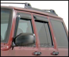 Auto Ventshade Ventvisors For 1984-01 Jeep Cherokee XJ 2-Door Models 92111
