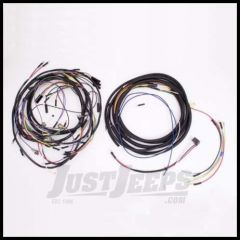 Omix-ADA Wiring Harness For 1957-65 Jeep CJ5 Exact Fit Plastic (Includes Turn Signal Wires, Non Military) 17201.10