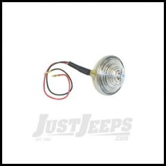 Omix-ADA Parking Light Assembly Front With Clear Lens & Amber Bulb 12V For 1955-71 Jeep CJ3B CJ5 CJ6 12405.02