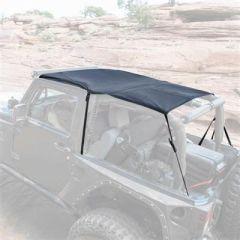 SmittyBilt Extended Brief Top In Black Diamond For 2007-09 Jeep Wrangler JK 2 Door 94135