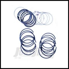 Omix-ADA Piston Ring Set For 1966-71 Jeep CJ Series With Buick 225ci V6 .040 Oversized 17430.53
