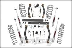"Rough Country 4"" Suspension Lift Kit With Premium N3 Series Shocks For 1997-02 Jeep Wrangler TJ Models 90630"