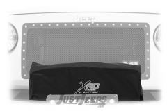 SmittyBilt XRC Winch Cover For XRC8 and XRC10 Winches In Black 97281-99