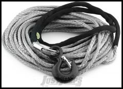 "SmittyBilt XRC Synthetic Winch Rope Rated For 10,000 lb. 3/8"" X 94' Long 97710"