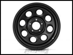 Pro Comp 97 Rock Crawler Series Wheel 17x8.0 With 5 On 5.00 Bolt Pattern & 4.25 Backspace In Flat Black PCW97-7873F