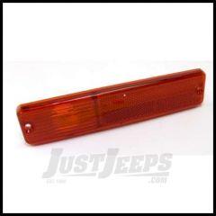 Omix-ADA Side Marker Light Lens Red Driver or Passenger Side For 1976-86 Jeep CJ5 CJ7 CJ8 Scrambler 12401.03