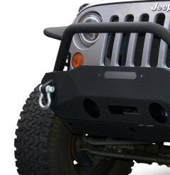 DV8 Offroad FS-16 Hammer Forged Front Bumper  For 2007-18 Jeep Wrangler JK 2 Door & Unlimited 4 Door Models FBSHTB-16 FBSHTB-16