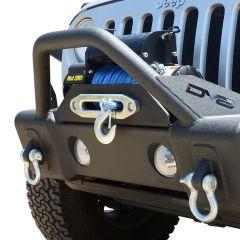 DV8 Offroad FS-13 Hammer Forged Front Bumper  For 2007-18 Jeep Wrangler JK 2 Door & Unlimited 4 Door Models FBSHTB-13 FBSHTB-13