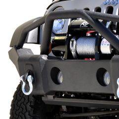 DV8 Offroad FS-1 Full Width Front Bumper for 07-20+ Jeep Wrangler JL, JK & Gladiator JT FBSHTB-01