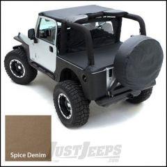 SmittyBilt Denim Spice Cover Kit For 1992-95 Jeep Wrangler YJ JPCVRPKG7
