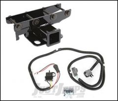 SmittyBilt Hitch Kit With Wiring For 2007-18 Jeep Wrangler JK 2 Door & Unlimited 4 Door Models JH45K